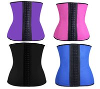 Wholesale Belted Underbust Corset - Rubber Corset Women Waist Training shapers XS-3XL Colors Cincher Belt Waist trainer Belt Underbust Body Shapewear DHL Free