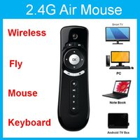 3D 360 Exactement 2.4G RF Wireless Air Fly Mouse pour Android TV Box Motion Sense télécommande