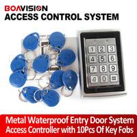 Wholesale Card Access Door Lock System - RFID Entry Door Lock Access Control System + 10 Keys