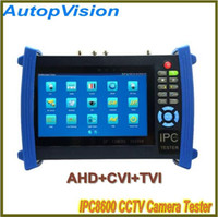 Wholesale Tester Camera Video Ip - 7 Inch Touch Screen Onvif IP Camera POE Power UTP Cable CCTV Tester Supply Video Record All in One AHD&CVI&TVI Camera Test