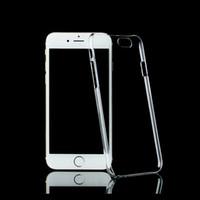 ingrosso plastica dura trasparente-Per iPhone 11 Pro Max X XR XS 8 7 più di cristallo trasparente libero cassa dura del PC per Samsung S10 in plastica di copertura di protezione Sheild ultra sottile