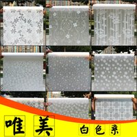 Wholesale Windows Mouldings - Adhesive stickers pervious to light opaque window tint ground glass bathroom window stickers cellophane move a sunscreen-5