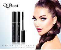 2017 Fashion Allungamento Mascara spessa Impermeabile QiBest Cina Makeup Marca Cheap Exquisite Black Makeup per Eye