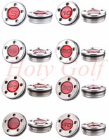 Wholesale Golf Screw - Scotty 2012 Style Newport Red Golf Putter Weights Screws one Pair of 5g-40g