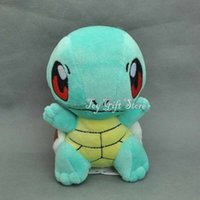 """Wholesale Stuffed Animals For Ems - Free Shipping EMS Cute Squirtle 6"""" 15CM Plush Doll Stuffed Animals Toy For The Children Gifts New"""