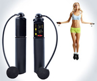 Wholesale Jump Rope Counter Wholesale - Digital Jump rope Fitness Cordless Skip Jumping Rope with Calorie and Jump Counter Exercise,Wireless Crossfit Bodybuilding Fitness jump rope