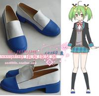 Wholesale Tamaki Cosplay - Wholesale-Gujjo bu Kannaduki Tamaki tama Cosplay Boots shoes #cos0103 New Custom made hand made