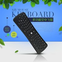 Wholesale Universal Media Remote - Wireless Keyboard T6 Mini Air Mouse 2.4Ghz Gyroscope Remote Control for M8 MXQ CS918 MXIII Android TV Box Media Player PC