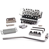Wholesale Double Locking Bridge - 7 strings Chrome Guitar Tremolo Bridge Double Locking System right
