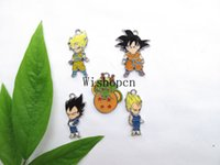 Wholesale Japanese Anime Wholesale - Wholesale Japanese anime Dragon Ball DIY Metal pendants Charms Jewelry Making Gifts YX-31