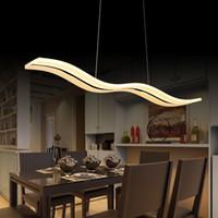 Wholesale Livingroom Lamps - TOP modern pendant lights for dinning room livingroom restaurant kitchen lights AC85-260V luminaire lamparas pendant lamps L98CM
