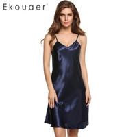 neue stilvolle damen kleider großhandel-Großhandels-Avidlove-Marken-2015 neue stilvolle Damen-Frauen-Wäsche-reizvoller Spaghetti-Bügel-Nachtwäsche Nachtwäsche-Kleid-Pyjamas
