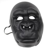 Wholesale Halloween Gorilla Mask - Children's toys cartoon animal masks Children's Performing holiday party props EVA material gorilla mask