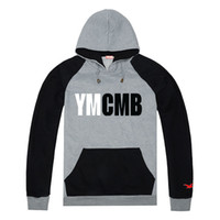 Wholesale hoodies ymcmb - Swag Men ymcmb Hoodies & Sweatshirts 100% cotton new design hip hop hooded coat Casual male winter and Autumn jackets clothing
