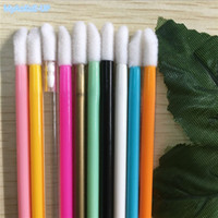 Wholesale lip stick mini for sale - Group buy Fashion Cosmetics Style Disposable Lip Brushes Lipstick Gloss Mini Lip Stick Brush Makeup Brushes Tools