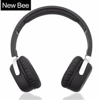 Wholesale bluetooth bee online - New Bee Bluetooth Headphones Bluetooth Headset Wireless Headphones Sport Earphone for iPhone Android Phone Smartphone Table PC