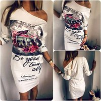 Wholesale New Mini Skirts - 2016 Hot New Arrivals Lady Women Short Bodycon Mini Dress Skirts Polyester Asymmetrical Hem Fashion Sexy Cocktail Party CL01050