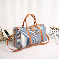 Wholesale Striped Cotton Scarves - Wholesale 2016 new leisure women's bags of navy style scarves striped bags of women's one-shoulder bags