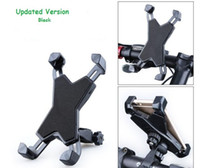 Wholesale Bike Smartphone Holder - Universal Motorcycle Treadmill MTB Bike Bicycle Handlebar Mount Holder for Cellphone Smartphone GPS - Updated Version
