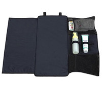Wholesale Side Table Cover - Travel Changing Pad Portable Diaper Clutch Bag with Wipes Dispenser Kit For Changing Mat Covers Changer Table