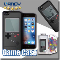 Wholesale Iphone Game Silicone Case - For iphone 8 plus 7 TPU silicon game case about 20 games include game machine case with retail package