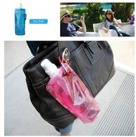 Wholesale Hot sale ml fashion folding Water Bottle Outdoor Camping Mountaineering Tourism Hiking Drinking Water Kettle