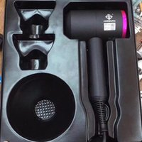 Wholesale Professional Salon Hair Blow Dryers - Kingsman Supersonic Hair Dryer Professional Salon Tools Blow Dryer Heat Super Speed Blower Dry Hair Dryers From daigua888