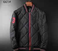 Wholesale Polo Vest Xl Black - Free shipping Men's POLO fashionable eiderdown cotton-padded jacket Sleeveless vest Brand ma3 jia3 coat Men's super light feather jacket