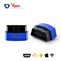 Wholesale Icar Wifi Vgate - 2016 New Arrival Vgate iCar3 Wifi Elm327 Wifi OBD Code Reader Support All OBDII Protocols Cars iCar 3 Scan for Android  IOS PC