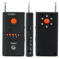 bug finder hf signal detektor großhandel-CC308 + Full Arrangieren Multifunktions Anti Hören RF Detector für Wireles Signal Mini Kamera und Bug Detector Sensor Finder CC308