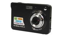 Wholesale Digital Photo Video Camera - 1pcs Digital camera 2.7 inch TFT LCD 16.0 mega pixels 4X digital zoom Anti-shake Video Camcorder photo camera Free send