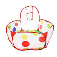 Wholesale Play Safe Kids - Outdoor Baby Playpen Children Indoor Ball Pool Play Tent Kids Safe Polka Dot Hexagon Playpen Portable Foldable Playpens VE0067