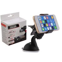 Wholesale Iphone5 Mount Car - Free DHL, 360 degree Car Windshield Mount cell mobile phone Holder Bracket stands for iPhone5 4S for samsung Smartphone(DB011)