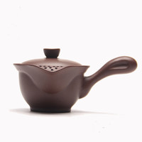 Wholesale Zisha Yixing Teapots - Teapot YiXing ZiSha Purple Clay With Handle Style Avoid Hot Water Mini Model With Capacity 150ml