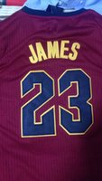 2018 New Edition 23 LeBron James Jersey cosido Hombres 23 LeBron Basketball Jerseys S-XXL