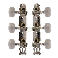 Wholesale Guitar Peg Keys Tuning Machines - Classical Guitar Tuning Keys Pegs Machine Heads Oval Button