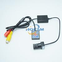 ccd kamera 12 großhandel-700tvl Nextchip 2090 + 810 \ 811 Mini 1/3 '' SONY Farb-CCD-Kamera mit getrennter Kamera Säurebeständig Hohe Härte 12 Grad Objektiv MINIKAMERA