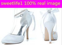 Wholesale Cheap Women Wedding Shoes - Cheap 0255-28 Elegant Fashion High Heels Wedding Dresses Buckle Strap Pointed Toe For Women Party Prom Evening Occasion Shoes High Quality
