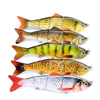 Wholesale Minnows 12cm - 5 Color 12cm 17g New Minnow Fishing Lures Crank Bait Hooks Bass Crankbaits Tackle Sinking Popper fishing lures