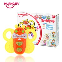 Dhgate Lovely Bee Baby Rattles / Mobiles Musical Hand Shaking Bell Ring Bambini Giocattoli come 0-24 mesi Children Set Educational Set