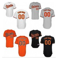 Wholesale Children Baseball - Baltimore Orioles Jersey personalized white black gray orange customize the color stitch baseball jersey for men young women   children