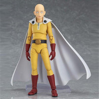 Wholesale Anime Figure Pvc Figma - New hot sale anime figure toy Figma 310 Saitama one punch man 16CM gift for children