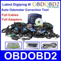 Wholesale Odometer Correction Mileage Tool Price - Wholesale-Factory Price Digiprog 3 Odometer Correction Tool Digiprog III Full Cables Adapters Digiprog3 Mileage Programmer High Quality