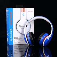 Wholesale Handsfree Galaxy - Top Quality Wireless Bluetooth Music Headphones New Fashion Handsfree Headset Sports Stereo Earphone With Microphone For iPhone Galaxy HTC