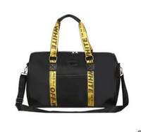 Wholesale Handbag Fashion Big Brand - Popular Brand OFF WHIT Duffel Bags Large Capacity Fashion Casual Shoulder Bags Short Journey Business Travel Bags Big Handbags