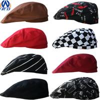 Wholesale Lady Cap Golf - Men & Women Berets Many Designs All Seasons Fashion Gentleman & Lady Flat Cap Baker Boy Peaked Newsboy Hat Drop Shipping MZ0002