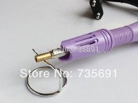Wholesale Hotfix Gun - Hot fix Applicator purple wand Gun for Hotfix Rhinestones iron on tools M63945 Rhinestones Cheap Rhinestones