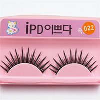 Wholesale Eye Hair Band - False Eyelashes Natural Fake Eyelashes Black False Eyelashes Eyelash Thick Eye Lashes Extension Band Makeup IPD 014~ 0313