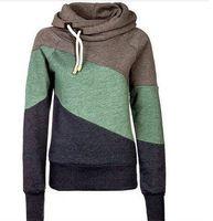 Wholesale Canvas Jumper - Wholesale-Women Pocket Hoody Hoodie Long Sleeve Parka Pullover Jumper Coat