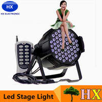 Wholesale Led Dj Light Par 54 - Wholesale Par Light 54 x 3W Led Par Lights DMX-512 8 Channel Stage Lighting Disco DJ Hand-to-Hand Par Can LED Light